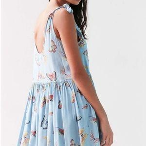 UO Kimchi Blue Butterfly Tent Babydoll Dress XS